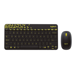 Logitech NANO Mouse and Keyboard Combo (MK240)